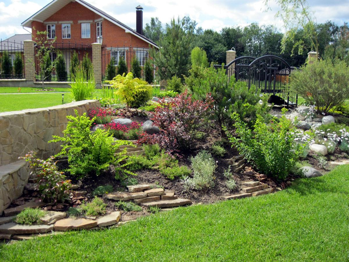 Ландшафтный дизайн  gardeniaru